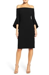 Chelsea 28 Women's Chelsea28 Off The Shoulder Stretch Sheath Dress