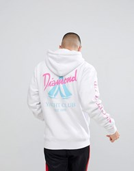 Diamond Supply Co. Voyage Hoodie In White
