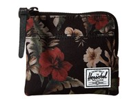 Herschel Johnny Hawaiian Camo Coin Purse Black