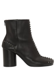 Maison Martin Margiela 80Mm New Tabi Leather Ankle Boots