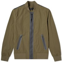 Rag And Bone Tech Bomber Jacket Green