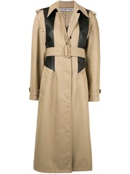 Alexander Wang Textured Panel Trench Coat 60