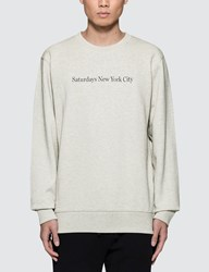 Saturdays Surf Nyc Bowery Crewneck