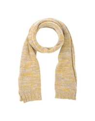 Roberto Collina Oblong Scarves Yellow