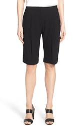 Women's Elie Tahari 'City' Crepe Cuff Walking Shorts