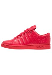 K Swiss Kswiss Lozan Iii Tt Croco Trainers Ribbon Red Juniper