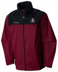 Columbia Men's Florida State Seminoles Glennaker Lake Jacket Maroon