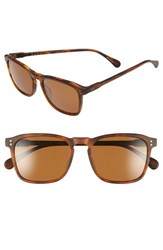 Raen Men's 'Wiley' 54Mm Sunglasses Matte Rootbeer