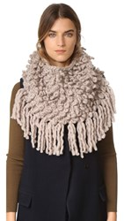 The Third Piece Bowery Cowl Scarf Wheat