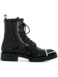 Alexander Wang Lyndon Boots Calf Leather Leather Rubber Black