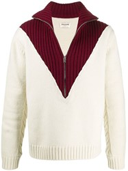 Zadig And Voltaire Francky Wony Show Pull Col Montant Zip Multicolore 60