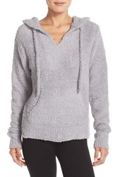 Women's Barefoot Dreams 'Cozy Chic Baha' Lounge Hoodie Dove