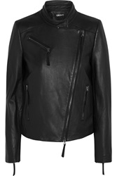 Dkny Leather Biker Jacket