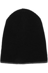 Loma Mariana Wool And Cashmere Blend Beanie Black
