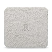 Parabellum White Leather Cardholder