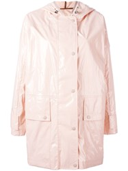 Moncler Navet Raincoat Pink Purple