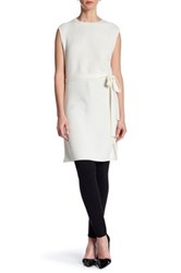 Hugo Boss Sleeveless Knit Tunic White