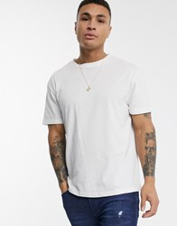 Another Influence Boxy T Shirt White