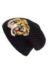 Gucci Men's Embroidered Wool Beanie