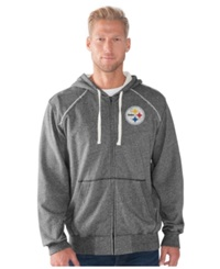 G3 Sports Men's Pittsburgh Steelers Victory Full Zip Jacket Navy