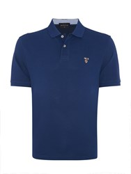 Howick Harvard Pique Short Sleeve Polo Pacific