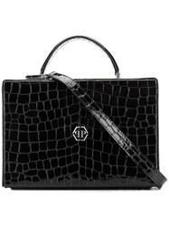 Philipp Plein Square Tote Black