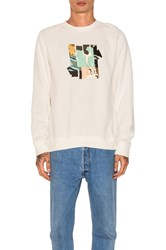 Undefeated Patchwork Strike Crewneck Cream