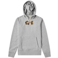 Saturdays Surf Nyc Ditch Peony Rectangle Hoody Grey