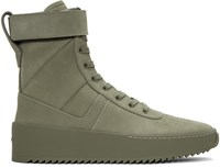 Fear Of God Green Military High Top Sneakers