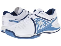 Wilson Nvision Elite White Denim Navy Men's Tennis Shoes
