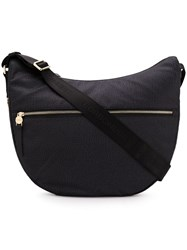 Borbonese Hobo Shoulder Bag Black