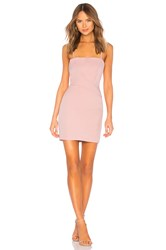 By The Way Sophy Fitted Mini Dress Blush