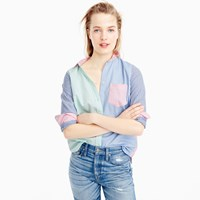 J.Crew Tall Colorful Cocktail Shirt