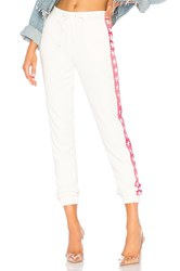 Lovers Friends Georganne Track Pant White