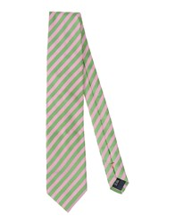 Moschino Accessories Ties Men Light Green