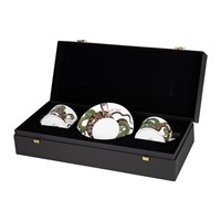 Roberto Cavalli Snakes Regalo Teacup And Saucer Set Of 2