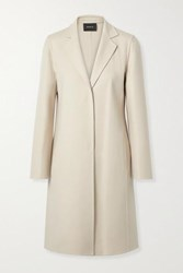 Akris Wool Coat Beige