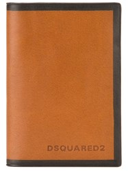 Dsquared2 Classic Card Holder Brown