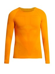 Falke Long Sleeved Compression Performance T Shirt Orange