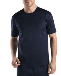 Hanro Sporty Crewneck Tee Midnight Navy Midnight Navy Medium
