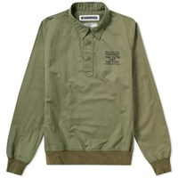 Neighborhood Pullover Slub Shirt Green