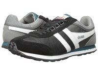 Gola Boston Black Grey Real Men's Shoes