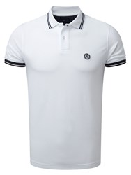 Henri Lloyd Men's Byron Regular Polo White
