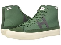 Huf Hupper 2 Hi Moss Skate Shoes Green