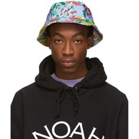 Noah Nyc Multicolor Floral Rugby Bucket Hat Powder