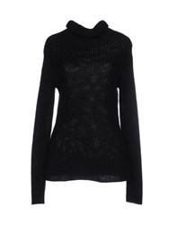 Hemisphere Knitwear Turtlenecks Women Black