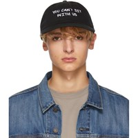 Nasaseasons Black 'You Can't Sit With Us' Cap