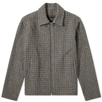 Harmony Milos Check Jacket Brown