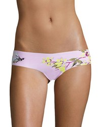 Free People Fiona Hipster Thong Pink
