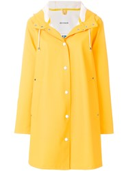 Stutterheim Mosebacke Coat Yellow And Orange
